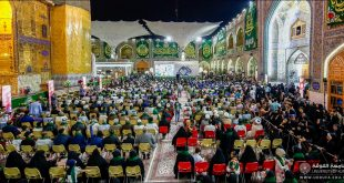 University of Kufa participates in the Activities of the Eighth Annual Ghadeer Festival