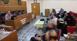 كلية الهندسة بجامعة الكوفة تنظم حلقة نقاشية حول الجسور في العراق