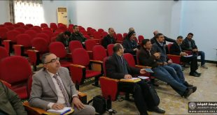 The University of Kufa holds a workshop on photographing video lectures
