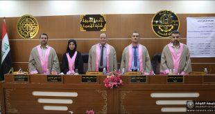 جامعة الكوفة تناقش رسالة ماجستير تدرس تلوث التربة بسبب الطمر الصحي في العراق