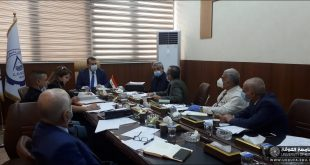 A Lecturer from the Faculty Of Engineering at the University Of Kufa participates in the Meetings of the Technical Committee of the Iraqi Codes Project