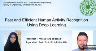A seminar at the Faculty of Engineering, University of Kufa, talks about human activities and the use of deep learning
