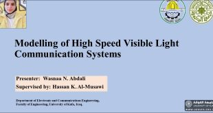 The Faculty of Engineering at the University of Kufa organizes a scientific symposium on light communication systems