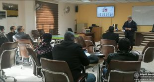 A Lecturer from the Faculty of Engineering, University of Kufa gives a Lecture on Programmatic Academic Accreditation
