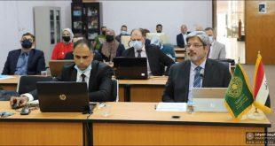 كلية الهندسة جامعة الكوفة تتراس الجلسة الافتتاحية لمؤتمر ضمان الجودة والاعتماد الأكاديمي