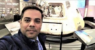 تدريسي من كلية الهندسة في جامعة الكوفة يشارك في مؤتمر الأرض والفضاء المنعقد في الولايات المتحدة الأمريكية