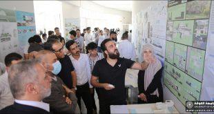 كلية الهندسة بجامعة الكوفة تفتتح المعرض السنوي الاول لنتاجات طلبة هندسة العمارة