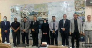 كلية الهندسة بجامعة الكوفة تشارك بمناقشة مشاريع تخرج طلبة جامعة كربلاء